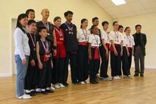Xia Quan Tai Chi Kung Fu Nederland Rotterdam competition in England