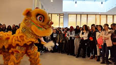Kung Fu Demo Lion dance-Montfort College