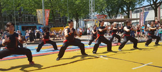 Kung Fu Tai Chi en leeuwendans: A Brand New Day