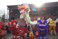 Opening ceremony Chinese New Year Rotterdam
