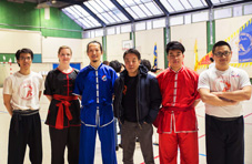 Xia Quan Kung Fu & Tai Chi meeting Paris 18-03-2018