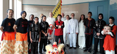 "Leeuwendans, Tai Chi & Kung Fu show: Celebration Chinese New Year voor ""Laurens"""
