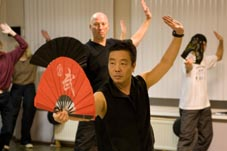 Tai Chi Fan lesson 2008