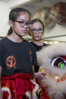 Xia Quan children lion dance