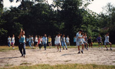 Chinese culture camp 1990