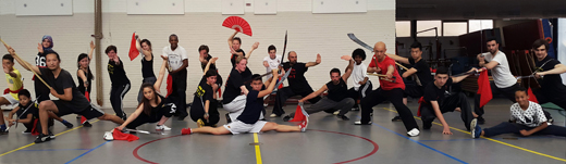 the last Kung Fu lesson before summer holiday 2015