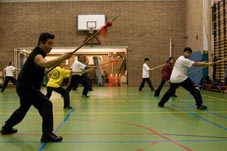 Tai Chi Kung Fu Nederland Rotterdam Xia Quan south style spear
