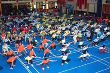 Tai Chi workshop voor NS (600 pers.) 2007