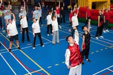 Tai Chi & Chi Gong Workshop voor Railsportdag Mill 2007