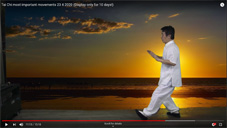Tai Chi most important movements 23 4 2020