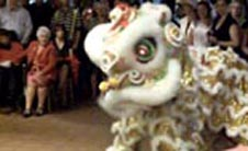 lion dance for wedding