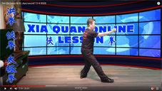 Tai Chi basic & 42 Jian/sword 13 4 2020