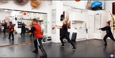 Sifu Kong Teaching Room 10 Tai Chi sword 42