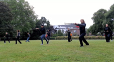 Outdoor Tai Chi lesson 08-Jun-2020 After 2 months lockdown