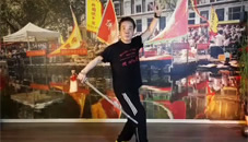 Stay at home, learn at home! Tai Chi 42 sword (19-3-2020)